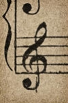 gallery/treble-clef-on-grunge-old-paper_105181652
